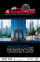 VisionMonday 2009 Summit Program